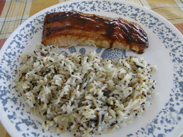 ... /entrees/grilled-salmon-with-sweet-bourbon-glaze-and-hickory-smoke