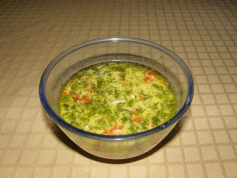 Romanian style chicken soup from Radauti (2/2)