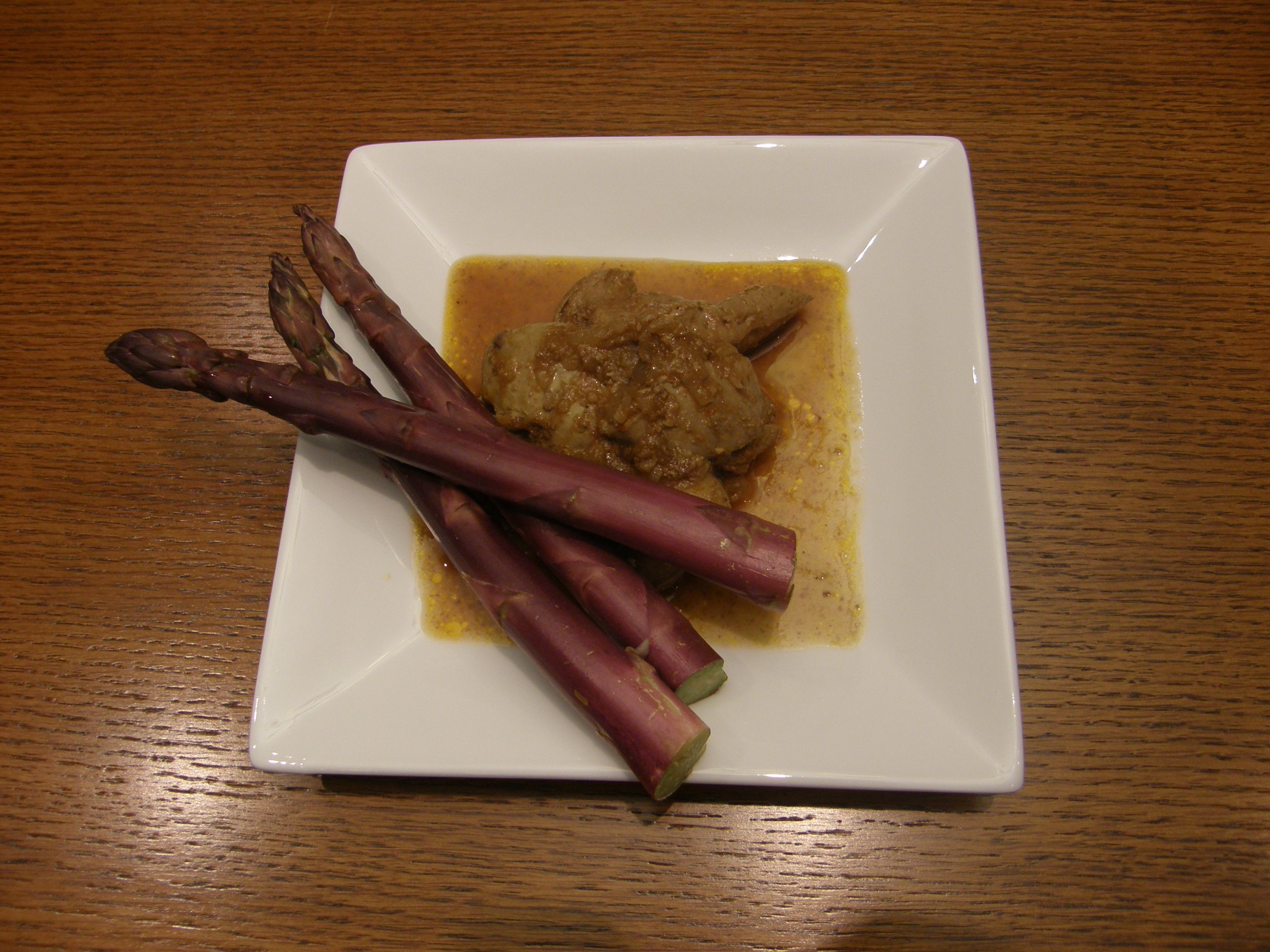 Chicken livers in red wine sauce with polenta | Chef Doru's Blog