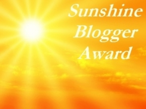 Sunshine Blogger Award (2)