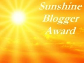 Sunshine Blogger Award (2)