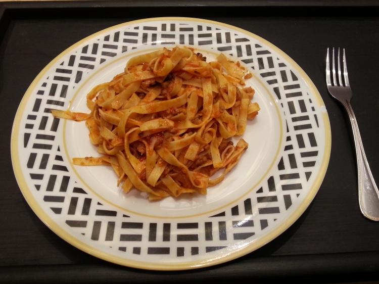 Pasta with Doru's sauce
