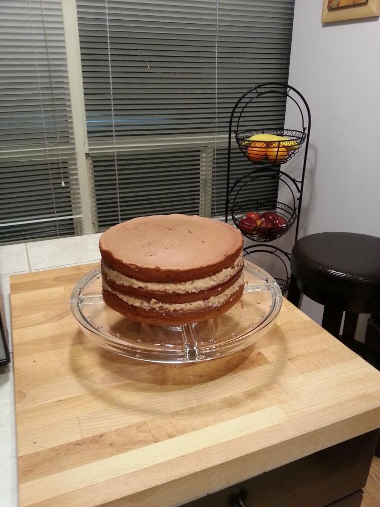 German cake (1/4)