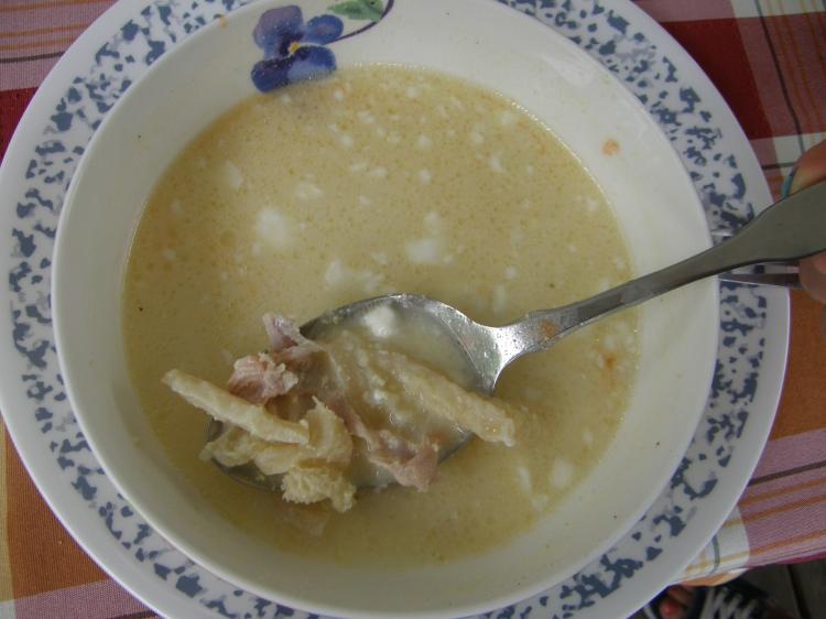Romanian tripe soup-1