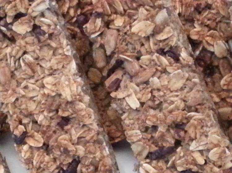 Homemade organic granola bar-1