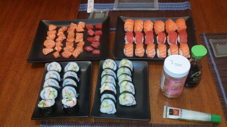 Sushi dinner-14/12/13